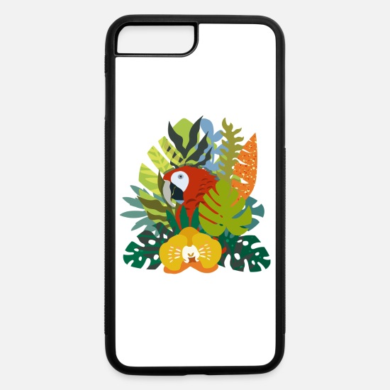 Tropical iPhone Cases - Colorful - iPhone 7 & 8 Plus Case white/black