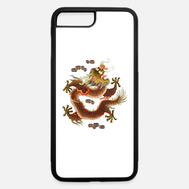 Asian Chinese dragon embroidery - iPhone 7 & 8 Plus Case