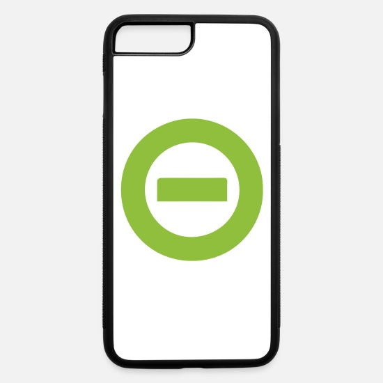 Negative iPhone Cases - Type O Negative - iPhone 7 & 8 Plus Case white/black