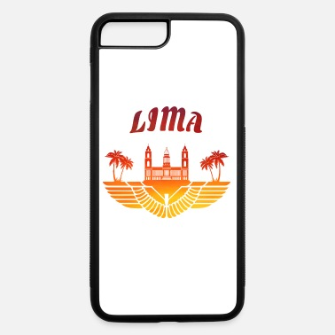 South America Lima Palace with Palms / Peru Gift South America - iPhone 7 Plus/8 Plus Rubber Case