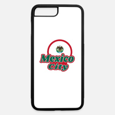 Mexico City Mexico City / Gift Flag - iPhone 7 Plus/8 Plus Rubber Case