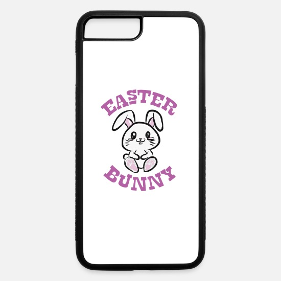 Easter iPhone Cases - Easter Bunny - iPhone 7 & 8 Plus Case white/black