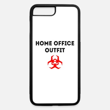 Home office outfit work gift saying - iPhone 7 & 8 Plus Case