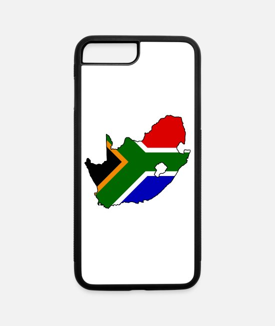 Continent iPhone Cases - South Africa - iPhone 7 & 8 Plus Case white/black