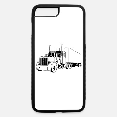 Truck Black truck - iPhone 7 & 8 Plus Case