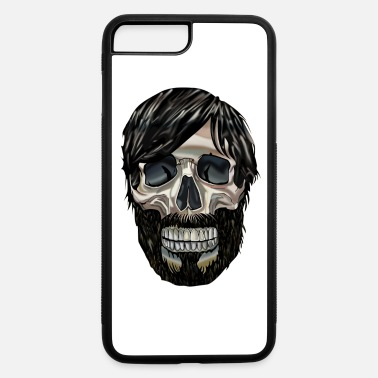 Graphic Art Cool Graphic art Skull - iPhone 7 Plus/8 Plus Rubber Case