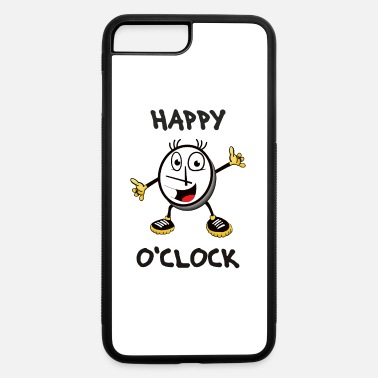 Clock It's Happy o'clock – Time to be happy - iPhone 7 & 8 Plus Case
