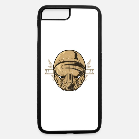 Flight iPhone Cases - Keep Cool And Be A Fighter Pilot - iPhone 7 & 8 Plus Case white/black