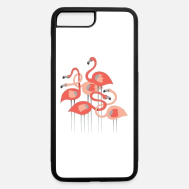 Group Flamingos Group - iPhone 7 Plus/8 Plus Rubber Case