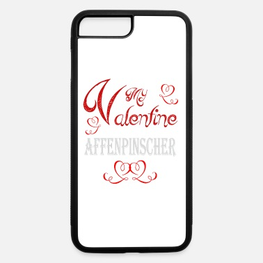 Romantic A romantic A romantic Valentine with my Affenpinsc - iPhone 7 & 8 Plus Case