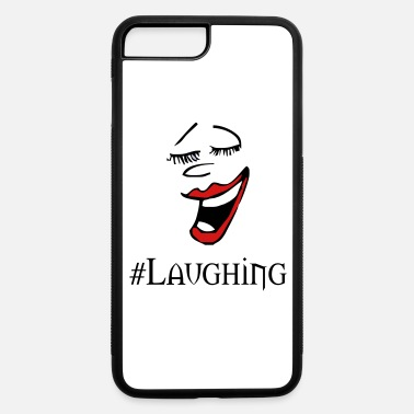 Laugh laughing - iPhone 7 Plus/8 Plus Rubber Case