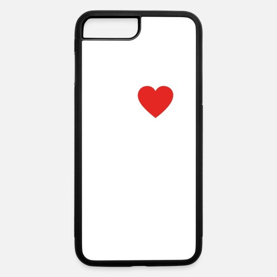 Love iPhone Cases - hobby gift birthday i love HOMEBREWING - iPhone 7 & 8 Plus Case white/black