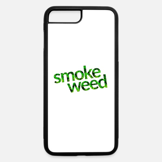 Shisha iPhone Cases - Smoke weed - iPhone 7 & 8 Plus Case white/black