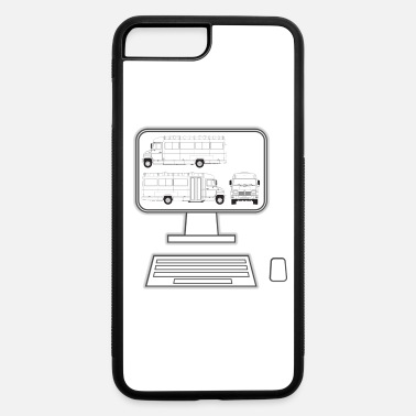 Pc pc truck - iPhone 7 Plus/8 Plus Rubber Case