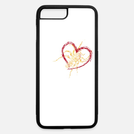 Love iPhone Cases - Spider Love - iPhone 7 & 8 Plus Case white/black