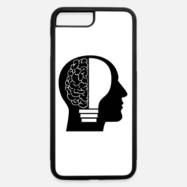Clever Clever human - iPhone 7 Plus/8 Plus Rubber Case