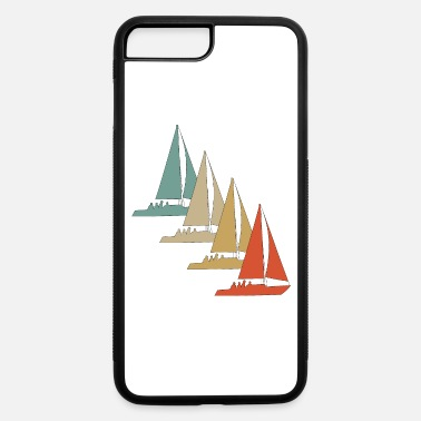 Saliboat Retro Vintage Style Sailing Sailboat Water Sports - iPhone 7 & 8 Plus Case