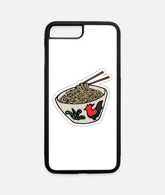 Supreme iPhone Cases - noodles - iPhone 7 & 8 Plus Case white/black
