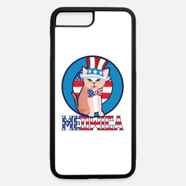 Hammer 4th of July Meowica Cat - iPhone 7 & 8 Plus Case