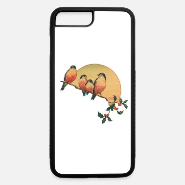 Vintage vintage bird - iPhone 7 Plus/8 Plus Rubber Case