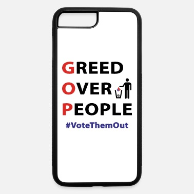 Greed GREED OVER PEOPLE - iPhone 7 & 8 Plus Case
