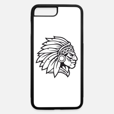 Indian Brave Indian Chief Mascot Cherokee Mascot Warrior Brave - iPhone 7 & 8 Plus Case