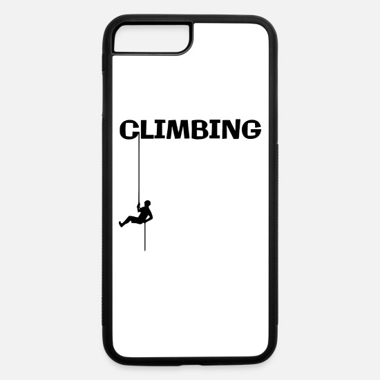 Forest iPhone Cases - Hiking is my hobby - iPhone 7 & 8 Plus Case white/black