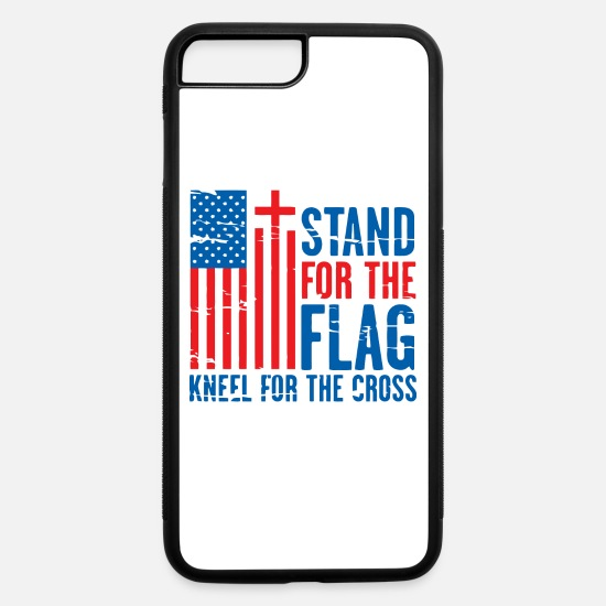 Standard iPhone Cases - STAND FLAG - iPhone 7 & 8 Plus Case white/black