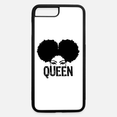Afro Woman Afro Woman Hair - iPhone 7 & 8 Plus Case