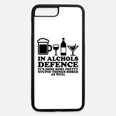 Defence IN ALCOHOLS DEFENCE - iPhone 7 & 8 Plus Case