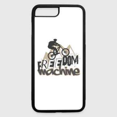 Freedom Machine Mountain Bike - iPhone 7 Plus/8 Plus Rubber Case