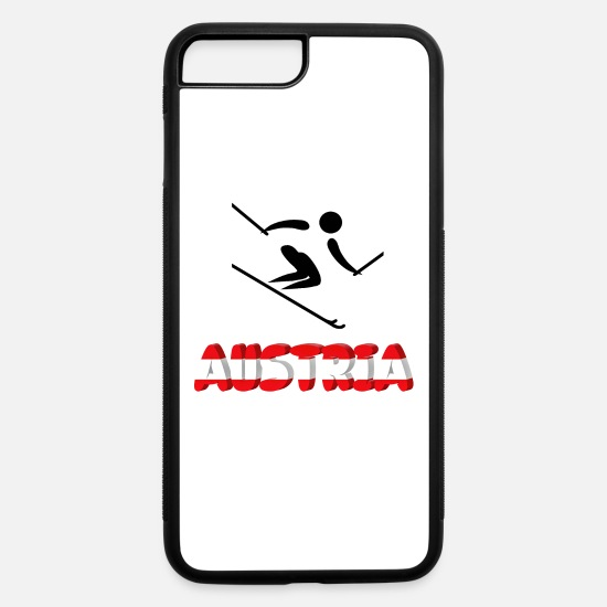 Mountains iPhone Cases - Austria - iPhone 7 & 8 Plus Case white/black
