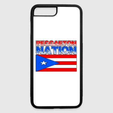 Puerto Rican Pride Reggaeton - iPhone 7 Plus/8 Plus Rubber Case