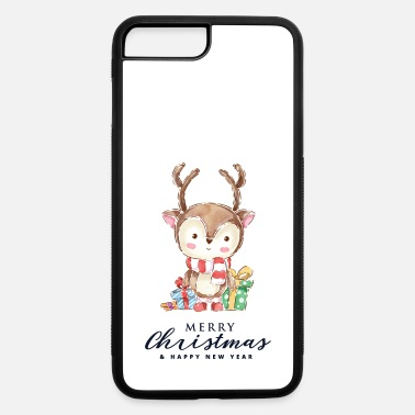 Christmas Merry Christmas my Deer - iPhone 7 Plus/8 Plus Rubber Case