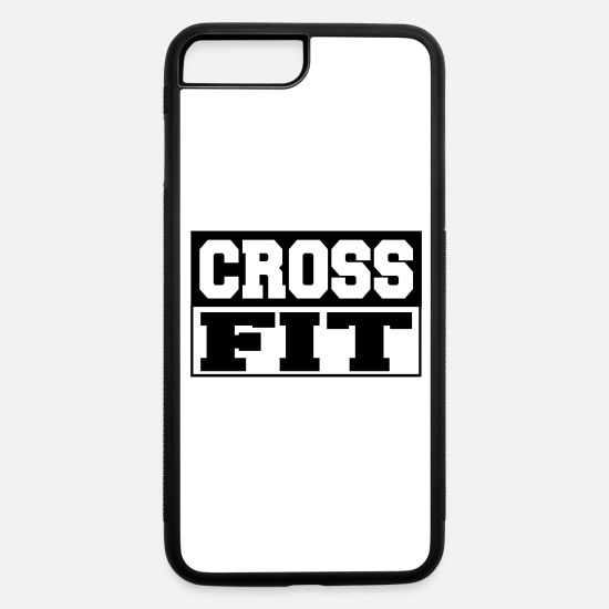 Crossfit iPhone Cases - crossfit - iPhone 7 & 8 Plus Case white/black