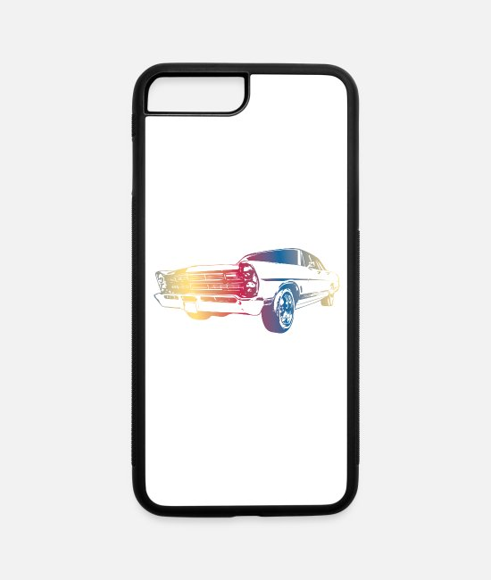 Cars iPhone Cases - CAR - iPhone 7 & 8 Plus Case white/black