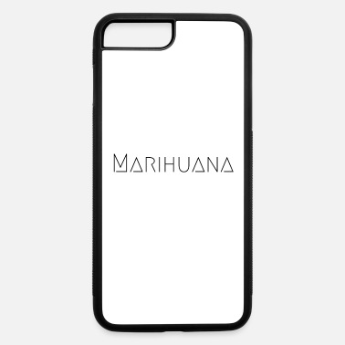 Schwarz Marihuana Schwarz - iPhone 7 Plus/8 Plus Rubber Case
