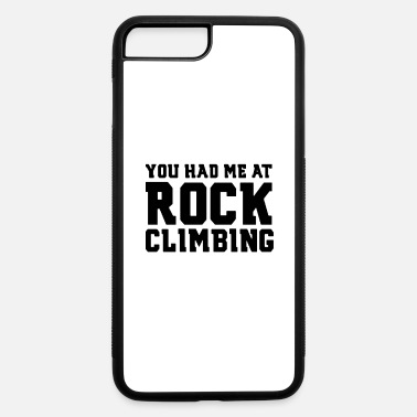 Funny Rock Climbing - iPhone 7 & 8 Plus Case