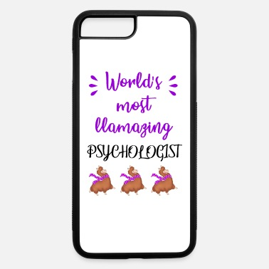 Awesome Psychologist World's most llamazing amazing psychologist. Llama - iPhone 7 & 8 Plus Case