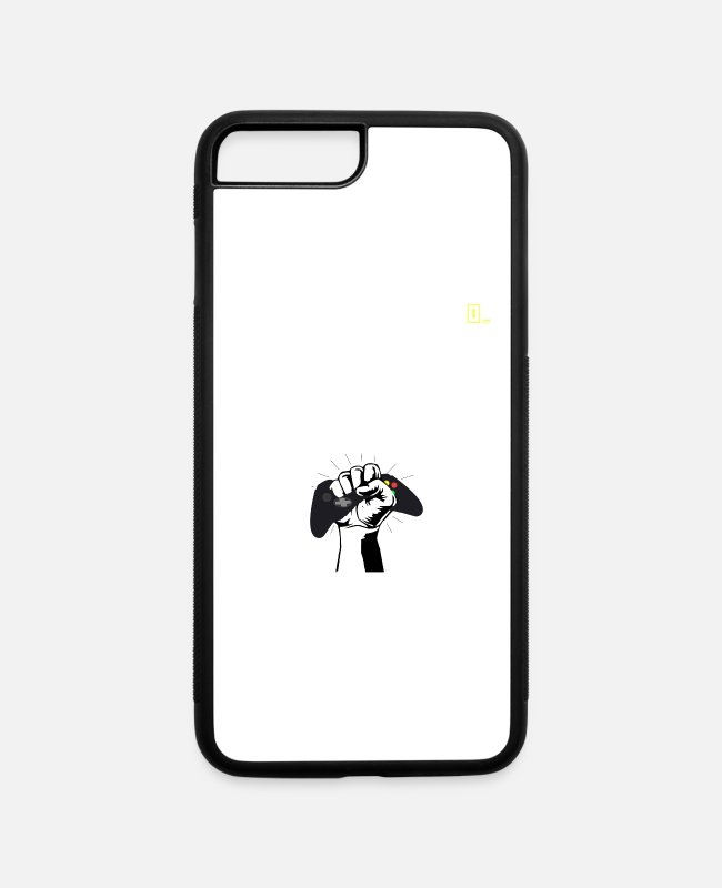 Ps4 iPhone Cases - Poor Gamer - iPhone 7 & 8 Plus Case white/black