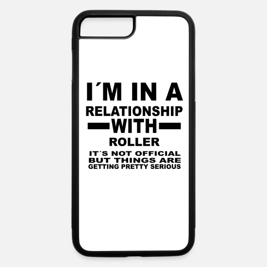 Derby iPhone Cases - relationship with ROLLER DERBY - iPhone 7 & 8 Plus Case white/black