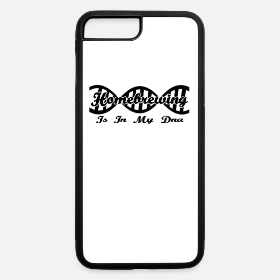 Homebrew iPhone Cases - Dna dns evolution geschenk hobby Homebrewing - iPhone 7 & 8 Plus Case white/black