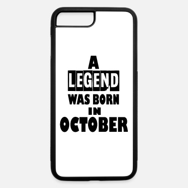 October october - iPhone 7 Plus/8 Plus Rubber Case