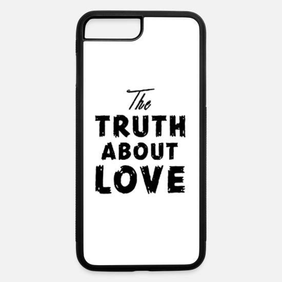 Love iPhone Cases - the truth about love - iPhone 7 & 8 Plus Case white/black