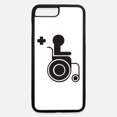 Sit sitting in a wheelchair - iPhone 7 & 8 Plus Case