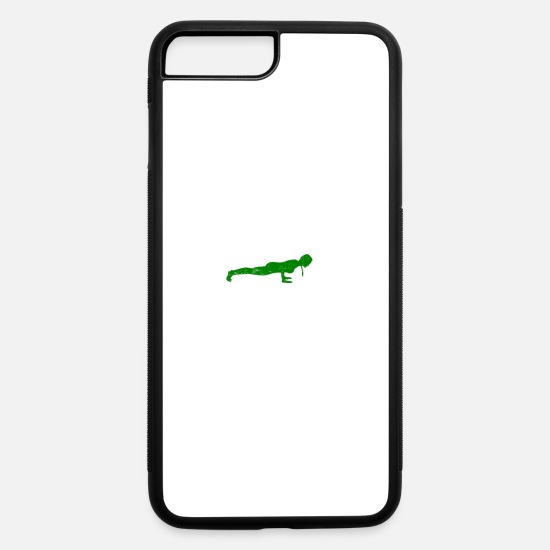 Wine iPhone Cases - Funny my liver is fine, I do Yoga St.Patrick's Day - iPhone 7 & 8 Plus Case white/black