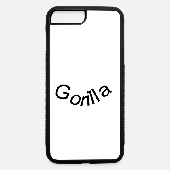 Gorilla iPhone Cases - Gorilla - iPhone 7 & 8 Plus Case white/black