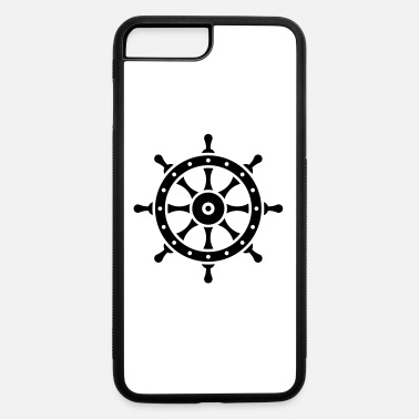 Helmsman Ship's Wheel (Seaman / Skipper / Sailor / Captain) - iPhone 7 & 8 Plus Case