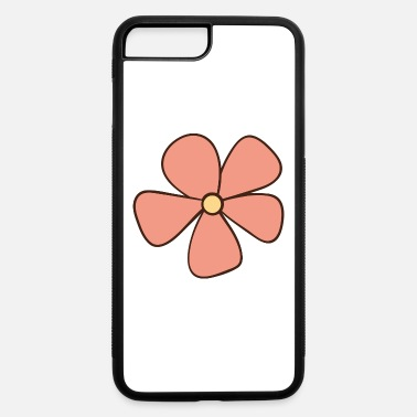 Pink pink flower - iPhone 7 & 8 Plus Case