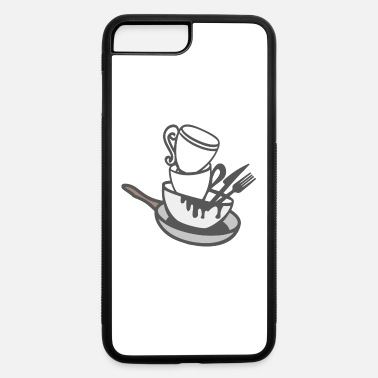 Dish Dirty Dishes - iPhone 7 & 8 Plus Case
